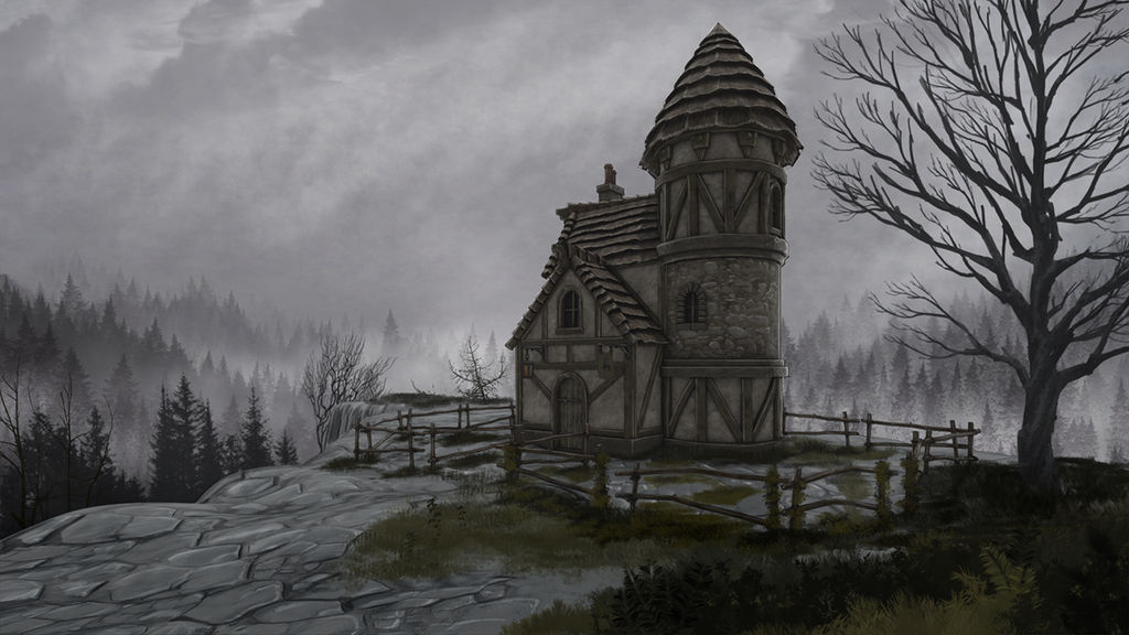 Loal's Adventure - House on the hill final 1280x72 by anirhapsodist