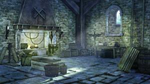 Blacksmith day by anirhapsodist