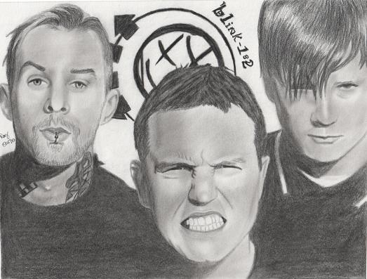 blink 182 by FromPencil2Paper