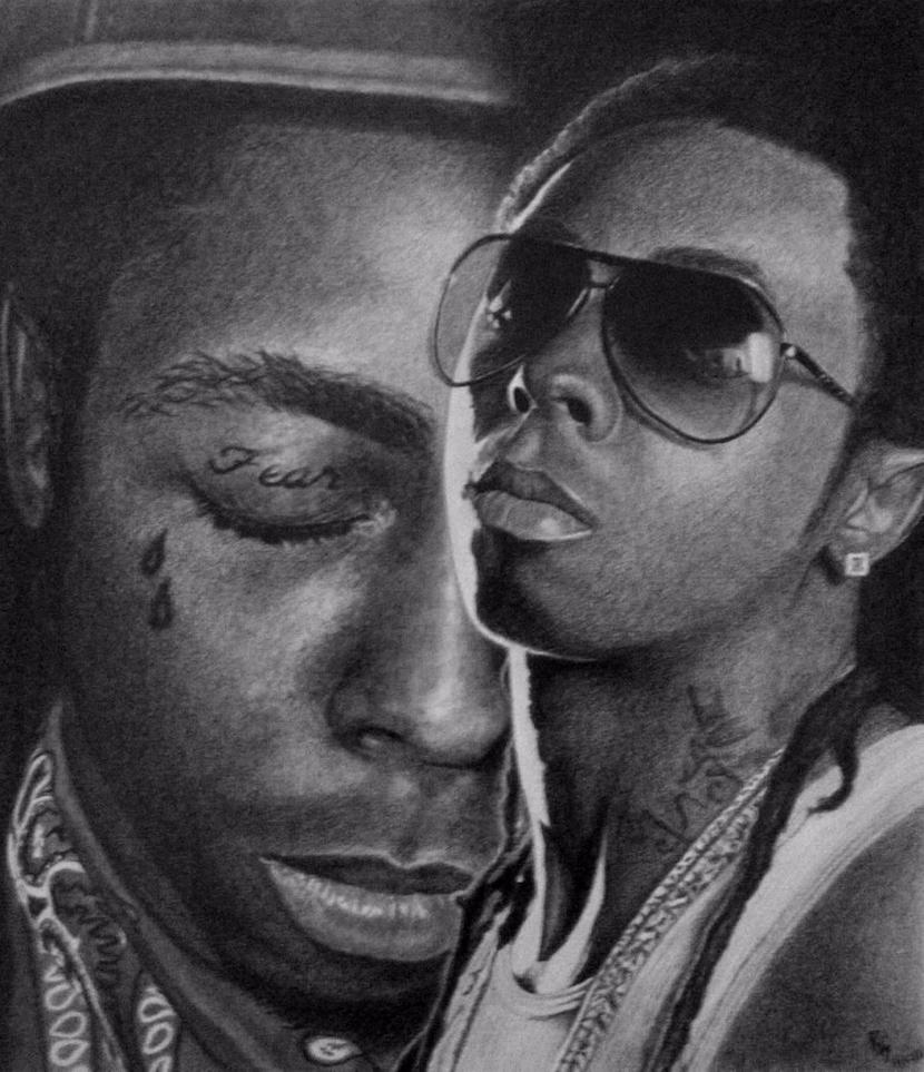 Pencil Drawings Of Lil Wayne Lil Wayne - Tha Carter...