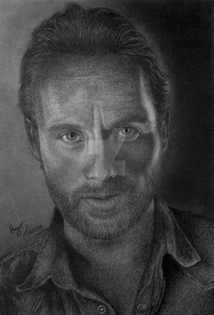 Rick Grimes by FromPencil2Paper