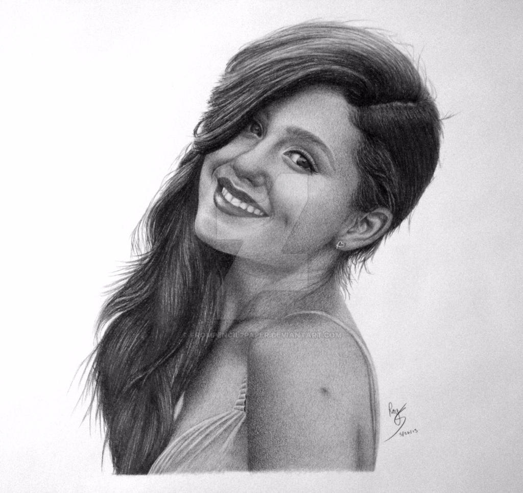 Ariana grande by frompencil2paper ariana grande by frompencil2paper
