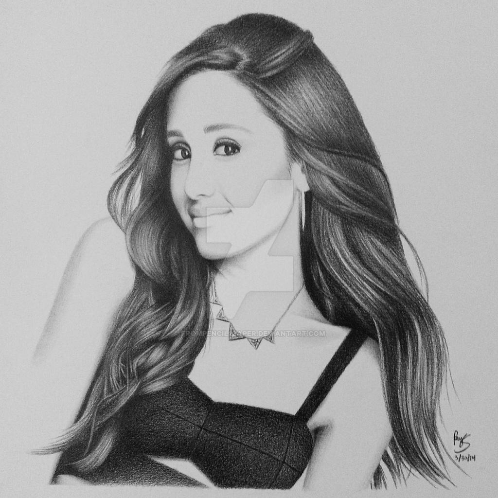 Ariana Grande by FromPencil2Paper