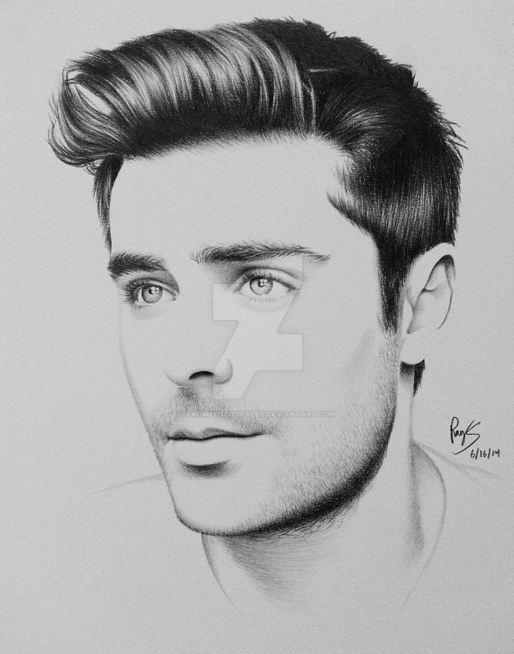 Zac Efron by FromPencil2Paper on DeviantArt Channing Tatum