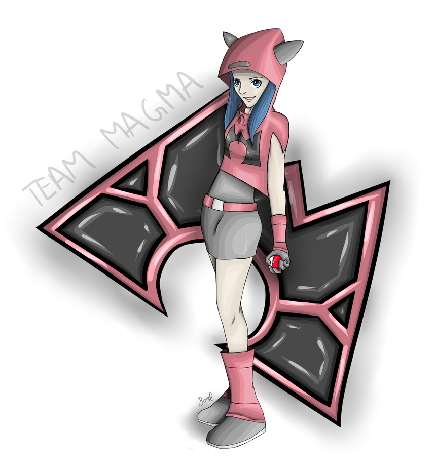 Team Magma Grunt by tieknots
