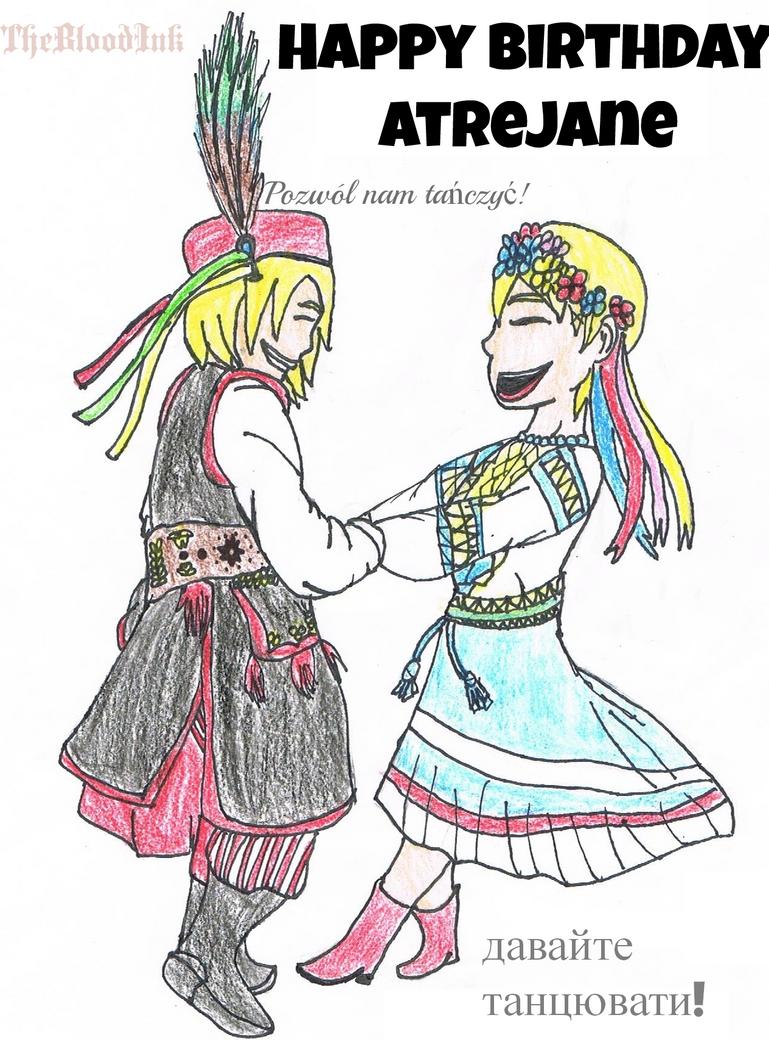 Happy Birthday AtreJane! (PolandXUkraine) by TheBloodInk