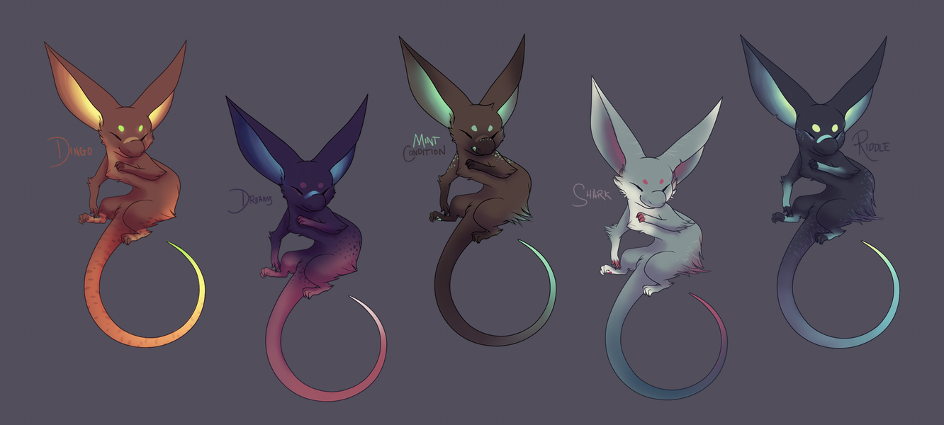 Nix Adoptables II {closed} by tessary