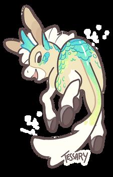 Sparkly Donkey Kirin