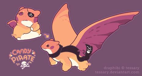 Dragoon Draphibi: Candy Pirate CLOSED