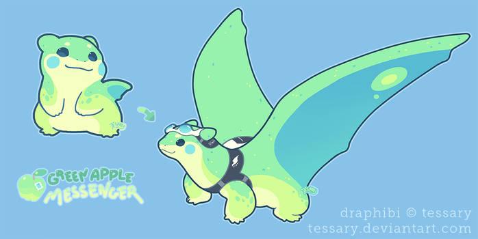 Dragoon Draphibi: Green Apple Messenger CLOSED