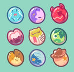Hatchling Badges by marshmu