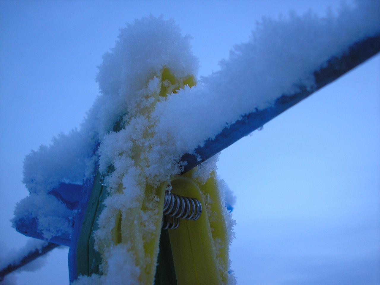 Snow Pegs 2 by StivStock