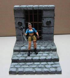 Diorama: Tomb rmRaider