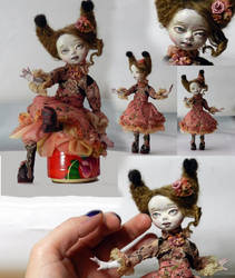 Betty Ooak sculpted doll from Ladoll clay )