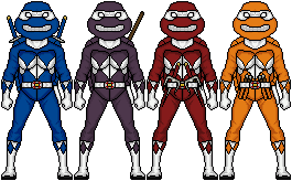Mighty Mutant Power Turtles by lurch-jr
