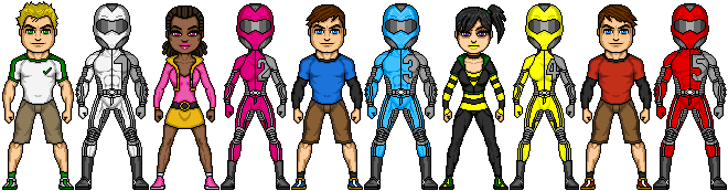 Power Rangers Moto by lurch-jr