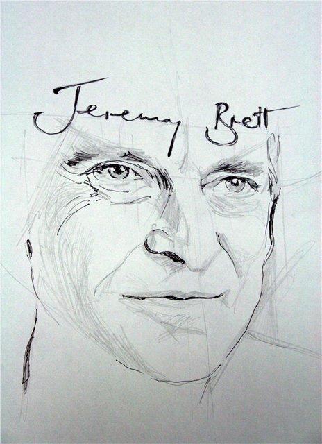 Jeremy Brett KÉPEK, FOTÓK Brett_sketch_by_curlysue1-d4klwty