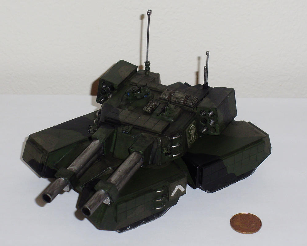 Mammoth Tank Scale By Johnny-Canuck07 On DeviantArt