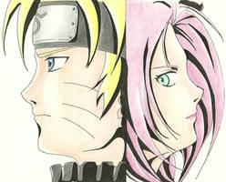 Naruto Sakura by evilgoddesseris