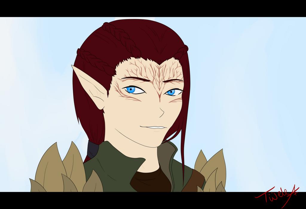 Luth - awkward smile by Twele