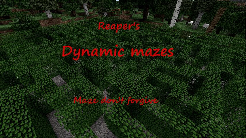 [SSP] | [1.4.7] | Minecraft Dynamic Mazes Mod - Laberintos, trampas, enemigos, tesoros! Mc_mod_title_by_wh_reaper-d4qimg3