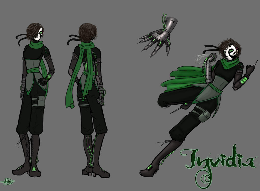 Invidia - Concept Art by InkRoze