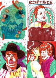 Art Trading Card sample