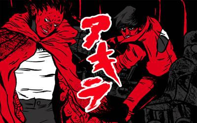 Akira doodle by theSSjulia