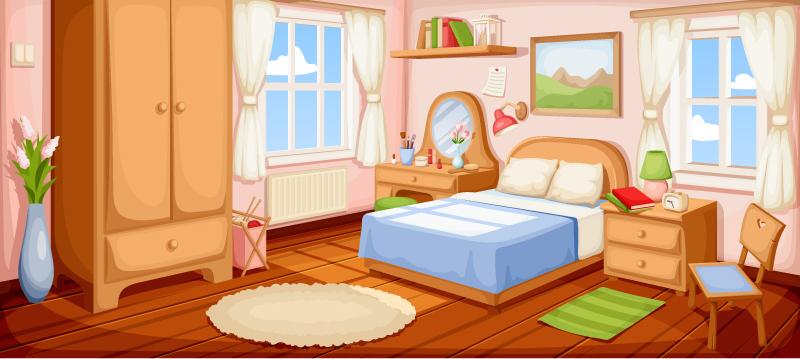 Bedroom by Naddiya