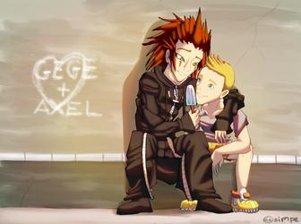 gege + Axel Christmas present