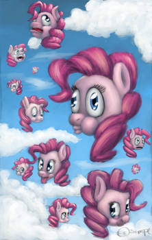 Pinkie in the sky