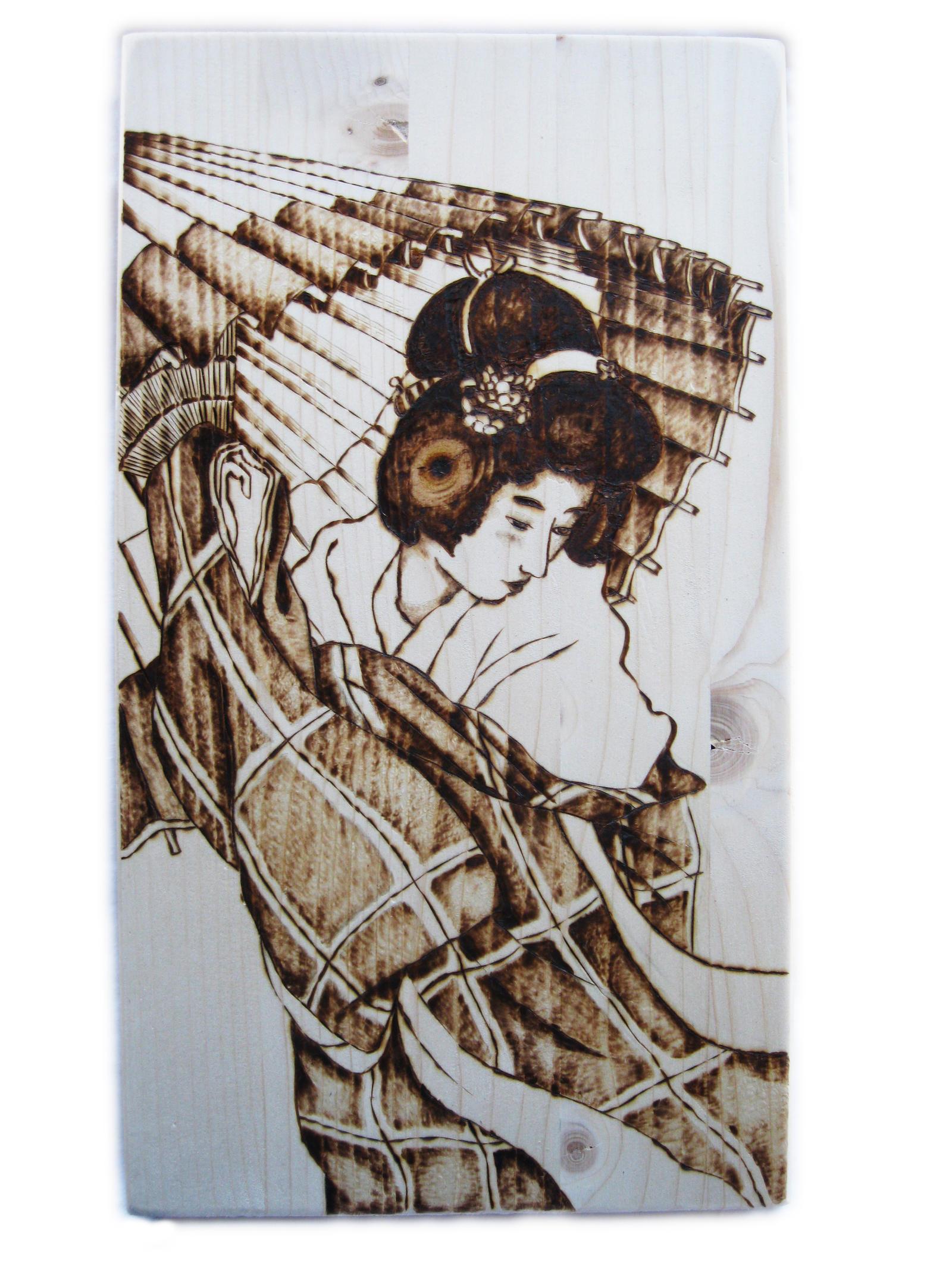 Japanese lady by ChibiPyro