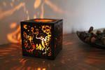 Hardboard Lantern Forest Animals by ChibiPyro