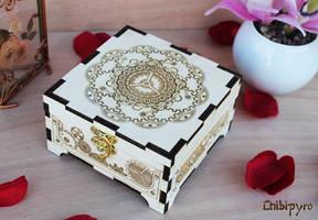 Wooden Box Steampunk by ChibiPyro