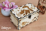 Wooden Box Fox