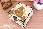 Firefly Cat Wooden Box