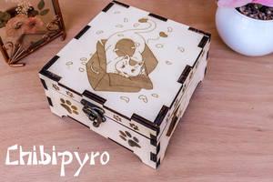 Box Cat by ChibiPyro