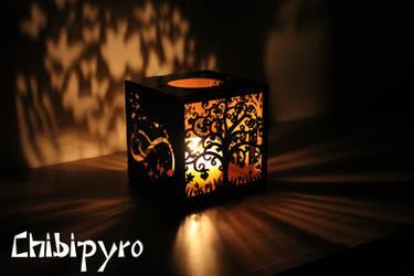 Custom lantern commission by ChibiPyro