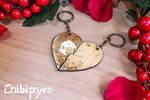 Custom Pig and Monkey keychain [commission]