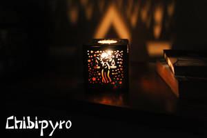 Libra hardboard lantern by ChibiPyro