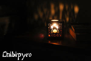 Cancer hardboard lantern by ChibiPyro