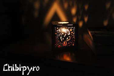 Aries hardboard lantern by ChibiPyro