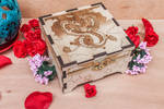 Dragons wooden box