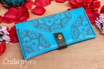 Turquoise Mandala Wallet