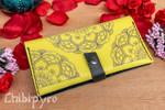 Yellow Mandala Wallet yellow