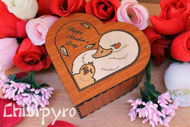 Mother's day heart box by ChibiPyro