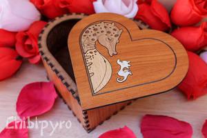 Seahorse Heart Box by ChibiPyro