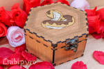 Adder celtic zodiac wooden box