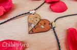 Bear couple charms