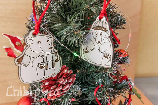 Christmas bears decorations